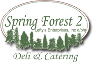 spring forest deli and catering logo