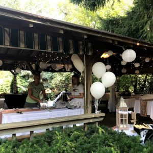 Spring Forest Deli and Catering Willow Springs Illinois Event Venue Rental Location for Wedding Baby Shower Bridal Birthday Reunion Graduation Celebration garden pavilion wedding decorations 01