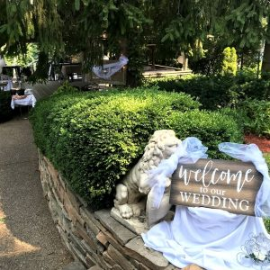 Spring Forest Deli and Catering Willow Springs Illinois Event Venue Rental Location for Wedding Baby Shower Bridal Birthday Reunion Graduation Celebration garden pavilion wedding decorations 04