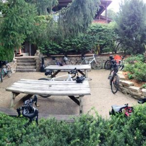 Spring Forest Deli and Catering Willow Springs Illinois Event Venue Rental Location for Wedding Baby Shower Bridal Birthday Reunion Graduation Celebration mountian bike biking group meetup spot